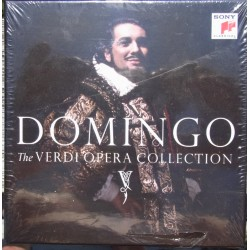 Domingo: The Verdi Opera Collection. Aida, La forza del destino, Otello, il Trovatore, I vespri siciliani, Luisa Miller.15 CD