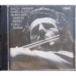 Bach: Sonatas for flute solo. Peter Lukas Graf. 1 CD. Claves