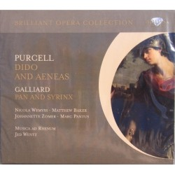Purcell: Dido and Aeneas. Jed Wentz, Musica ad Rhenum. 1 CD. Brilliant Classics