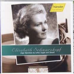 Elisabeth Schwarzkopf: Operetta arias by Lehar, Suppe and Strauss. 1 CD. Hanssler