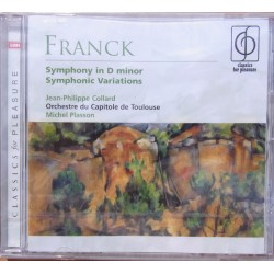 Franck: Symphony in D. + Symphonic Variations. Plasson. 1 CD. EMI