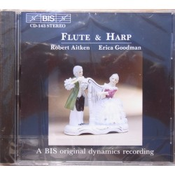 Flute and harp works by Spohr, Donizetti, Krumholz, Hovhannes. Aitken, Goodman, 1 CD. BIS