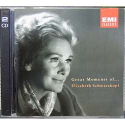 Elisabeth Schwarzkopf: Great moments of. 2 CD. EMI