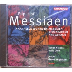 Messiaen, Stockhausen, Xenakis: A capella works. Danish Radio choir. Jesper Grove Jørgensen. 1 CD. Chandos