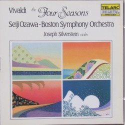 Vivaldi: The Four Seasons. Seiji Ozawa, Boston Symphony Orchestra. 1 CD. Telarc