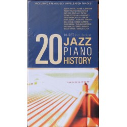 Jazz Piano History. 20 CD. Membran