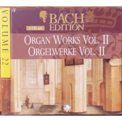 Bach: Organ works vol. 2 Hans Fagius. 9 CD. Brilliant Classics