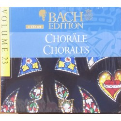 Chorales. BWV 253-438 Nordic Chamber Choir, 4 CD. Brilliant Classics