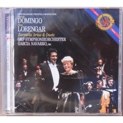 Domingo and Lorengar: Zarzuela arias and duets. Navarro. 1 CD. Sony