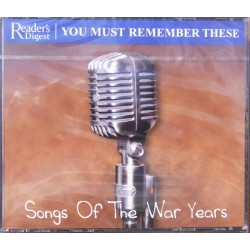Songs of the War Years. The White cliffs of Dover - We'll Meet again, 3 CD