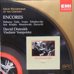 David Oistrakh. Encores. 1 CD. EMI Great Recordings of the Century