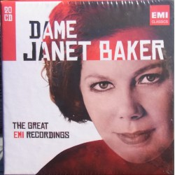 Dame Janet Baker. The Great EMI Recordings. 20 CD. EMI