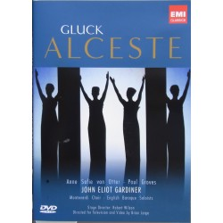 Gluck: Alceste / Gardiner, von Otter, Groves, English Baroque Soloists. 1 DVD. EMI