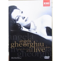 Angela Gheorghiu Live from Covent Garden. 1 DVD. EMI