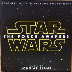 Star Wars. The Force Awakes. Music by John Williams. 1 CD. Sony