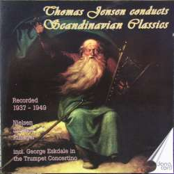 Scandinavian Orchestral music by Svendsen, Gade, Hartmann. Thomas Jensen. 2 CD. Danacord. New Copy