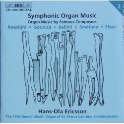 Symphonic Organ Music by Famous Composers. Hans-Ola Ericsson. 1 CD. BIS 1102