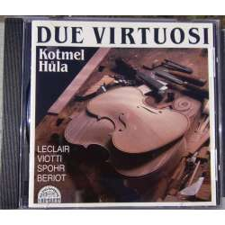 Spohr, Leclair & Viotti: Works for 2 violins. Bohumil Kotmel & Pavel Hula. 1 CD. Supraphon