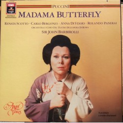 Puccini: Madama Butterfly. Barbiroli. Scotto, Bergonzi. 2 LP. EMI