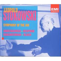 Leopold Stokowski Symphony of the air. Khactaturian, Shostakovich, Resphigi, Bloch. 2 CD. EMI