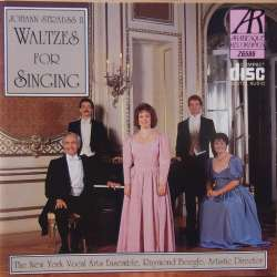 J. Strauss II: Waltzes for singing. New York Vocal arts ensemble. 1 CD. Arabesque.