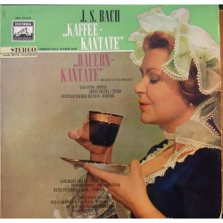 Bach: Coffee and Peasant Cantatas. Otto, Traxel, Fischer-Dieskau, Karl Forster. 1 LP. EMI