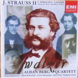 J. Strauss/Lanner. Waltzes for strygekvartet. Alban Berg Quartett. 1 CD. EMI