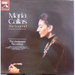 Maria Callas. The Legend, The Unreleases Recordings. 1 LP. EMI