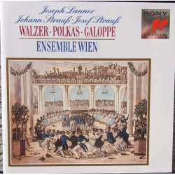 J. Strauss & Lanner: Waltzer, Polkas and galoppe. Ensemble Wien. 1 CD. Sony