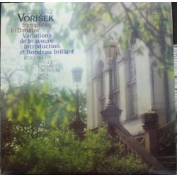 Jan Vorisek: Symphony in D. Ivan Parik, Prague Chamber Orchestra. 1 CD. Supraphon