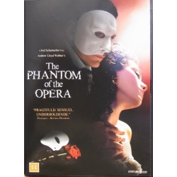 Andrew Lloyd Webber: The Phantom of the Opera. Film. 1 DVD.