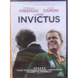 Invictus. Morgan Freeman, Matt Damon. 1 DVD