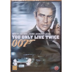 James Bond: Du lever kun to gange. Sean Connery, Donald Pleasence. 1 DVD