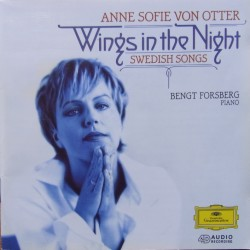 Wings in the Night. Anne Sofie von Otter. Swedish Songs. 1 CD. DG