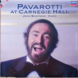 Pavarotti at Carnegie Hall. John Wustman (piano) 1 LP. Decca. 4215261