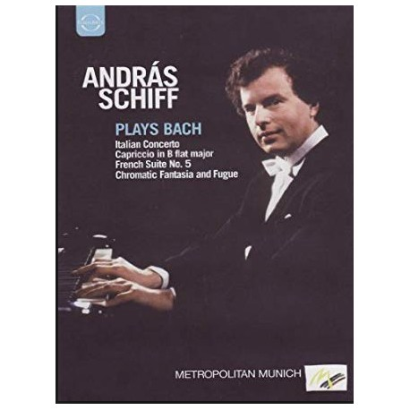 Bach: Italian Concerto, Chromatic fantasia and fugue. Andras Schiff. 1 DVD. Euroarts