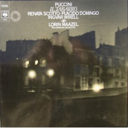 Puccini: Kappen. Scotto, Domingo, Wixell. Maazel. 1 LP. CBS 76741
