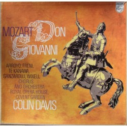 Mozart: Don Giovanni. Colin Davis, Arroyo, Freni, te Kanawa, Wixell. Covent Garden. 4 LP. Philips