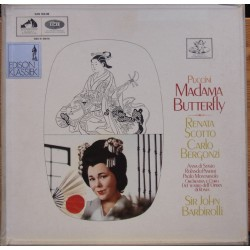 Puccini: Madama Butterfly. Barbiroli. Scotto, Bergonzi. 3 LP. EMI. SAN 184