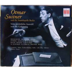 Otmar Suitner: 80 Birthday. Mahler, Mozart, Bruckner, Dvorak. 3 cd. Berlin Classics. New Copy