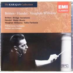 Handel: Water music. & Vaughan Williams: Tallis Fantasia. Herbert von Karajan. Philharmonia. 1 CD. EMI