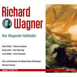 Wagner: The Flying Dutchman. Hotter, Hahn, Ursuleac, Clemens Krauss. 2 CD. På lager.
