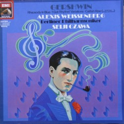 Gershwin: Rhapsody in Blue. Catfish Row, Weissenberg, Ozawa. 1 LP. EMI