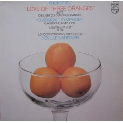 Prokofiev: Love of three Oranges. Neville Marriner, LSO. 1 LP. Philips 9500903