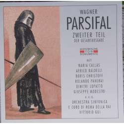 Wagner: Parsifal. 2 akt. Callas, Christoff, Gui. 2 CD. Cantus