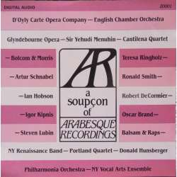 A soupcon of Arabesque Recordings. 1 CD