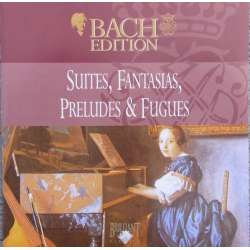 Bach: Suiter, fantasier, preludier, fugues. Pieter Jan Belder. 1 CD. Brilliant Classics