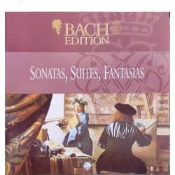 Bach: Sonater, Suiter og fantasier. Pieter Jan Belder. 1 CD. Brilliant Classics