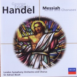 Handel: Messiah Arias and Choruses. Sir Adrian Boult. LSO. 1 CD. Decca