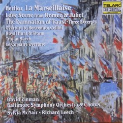 Berlioz: La Marsellaise. Royal Hunt and Storm. David Zinman, Baltimore SO. 1 CD. Telarc